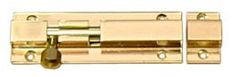 "Solid Brass Door Barrel Bolt 3"" - Boaterbits"