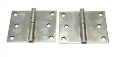 Solid Stainless Steel Locker Door Butt Hinges - Boaterbits