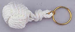 Monkeys Fist Rope Keychain - Boaterbits