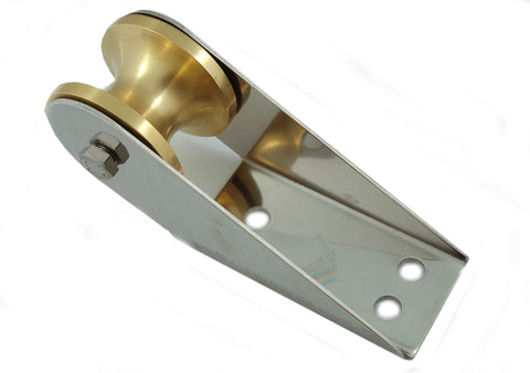 Boat Stainless Steel Anchor Roller Brass Roller - Boaterbits