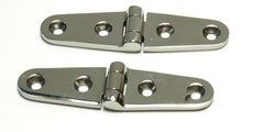 Cast Stainless Steel Locker Door Strap Hinges - Boaterbits