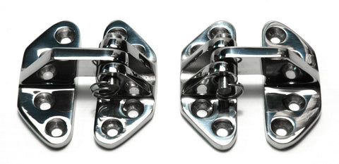 Cast Stainless Steel Hatch / Motorbox Hinges - Boaterbits