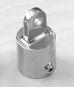 "Boat Railing Hand Rail Fitting Heavy Duty Top Cap 7/8"" - Boaterbits"