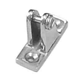 Boat Convertable Bimini Top Deck Hinge Angled Base - Boaterbits