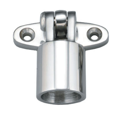 "Boat Bimini Top Rail Fitting Lay Down Hinge 7/8"" - Boaterbits"