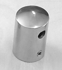 "Boat Railing Hand Rail Fitting Stanchion Top Cap 1"" - Boaterbits"
