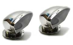 "Pair Sailboat Low Profile Dorade Vents Abi Stainless Steel 4"" - Boaterbits"