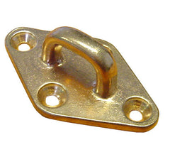"Bronze Boat Deck Pad Eye 4"" - Boaterbits"