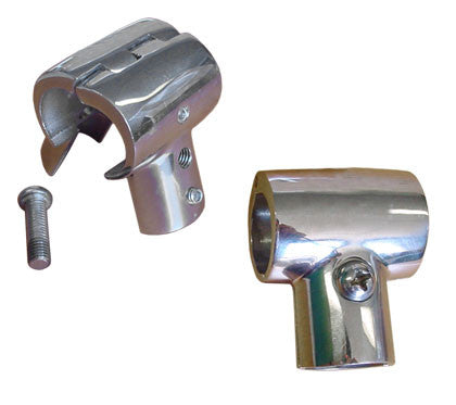 "Boat Railing Hand Rail Fitting Split Tee 60 Degree 7/8"" - Boaterbits"