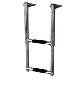 2 Step Swim Grid Mounted Boat Boarding Ladder - Boaterbits