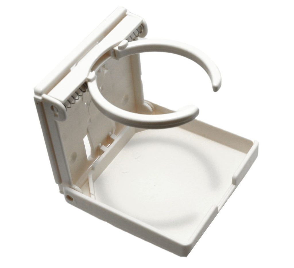 Collapsible Boat Rv Truck Golf Cart Drink Holders White - Boaterbits