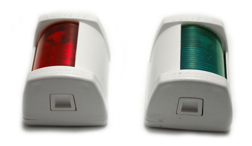 Series 25 Boat Navigation Lights Pair Port / Starboard - Boaterbits