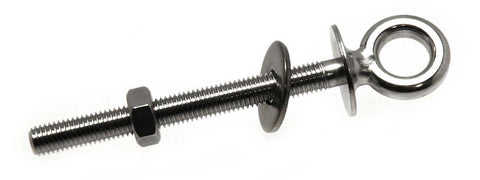 "10 mm Stainless Steel Shoulder Eye Bolt 2"" - Boaterbits"