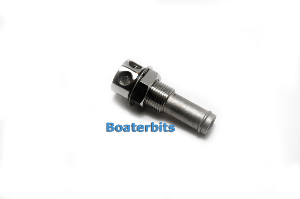 Stainless Steel Boat Fuel / Water Tank Vent - Boaterbits