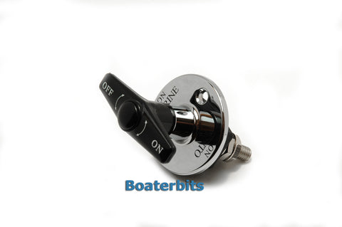 Battery Disconnect Switch Thru Bulkhead Mount - Boaterbits