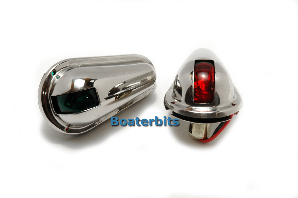 Stainless Steel Navigation Lights - Boaterbits