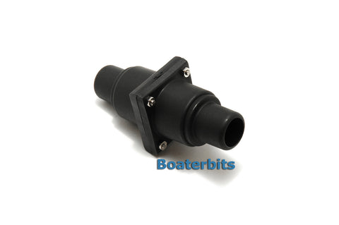 "Inline 1"" Or 1-1/2"" Bilge Or Holding Tank Check Valve - Boaterbits"