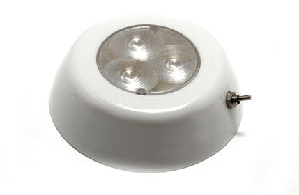 Led Surface Mount Dome Light With Switch Red - Boaterbits