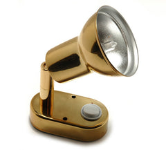Gold Plated Halogen Reading Light - Boaterbits