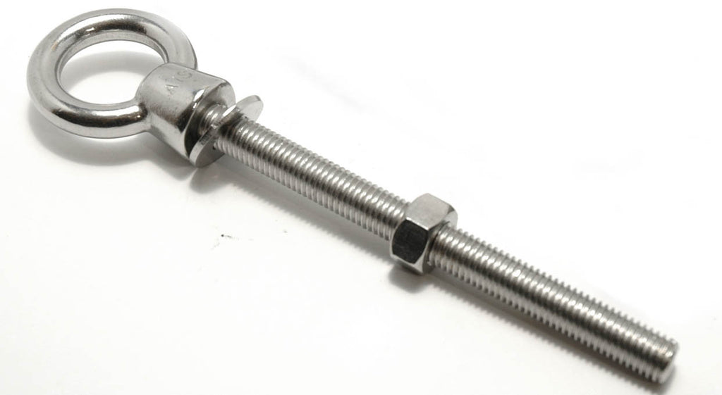 "12 mm Stainless Steel Forged Eye Bolt 4-3/4"" - Boaterbits"