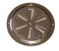 Stainless Steel Butterfly Style Boat Locker Vent - Boaterbits