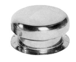 Stainless Steel Boat Mushroom Deck Vent - Boaterbits
