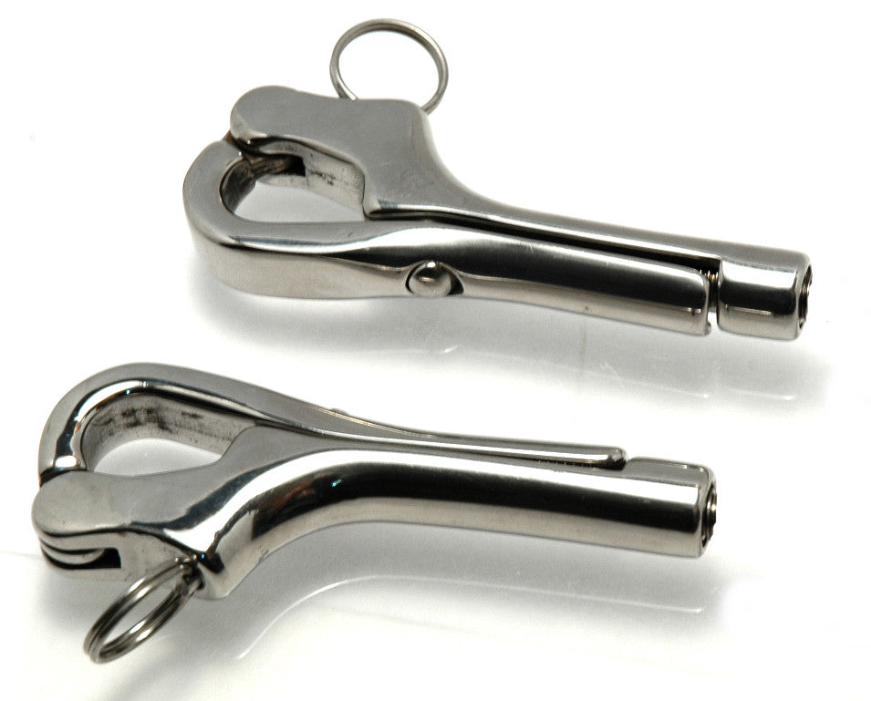 Stainless Steel Sailboat Lifeline Pelican Hooks - Boaterbits