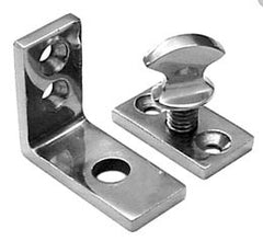 Cast Stainlesssteel Table Leg Fastener - Boaterbits