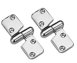 Stainless Steel Motor Box Take Apart Hinges - Boaterbits