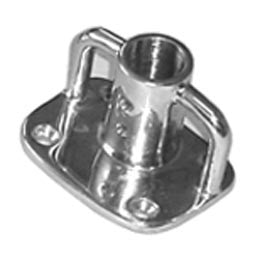 Cast Stainless Steel Sailboat Stanchion Bases - Boaterbits