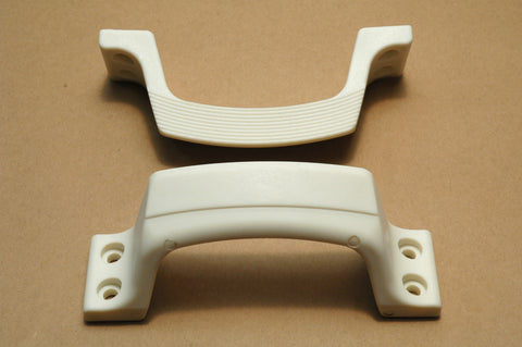 Boat Transom Mount Stern Handles / Steps Pair - Boaterbits