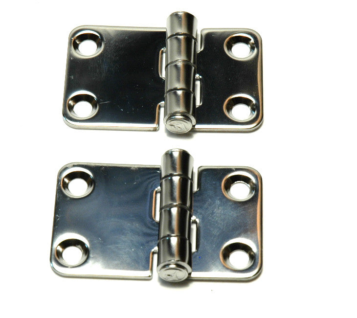 Stainless Steel Locker Door Strap Hinges - Boaterbits