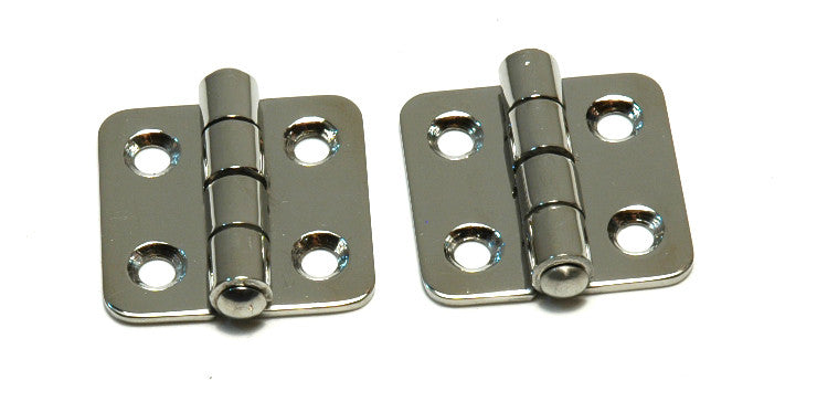 Stainless Steel Locker Door Butt Hinges - Boaterbits