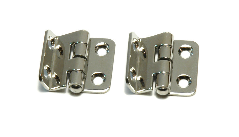 Stainless Locker Door Offset Strap Hinges - Boaterbits