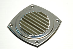 "Stainless Steel Louvered Locker Vent 5"" - Boaterbits"