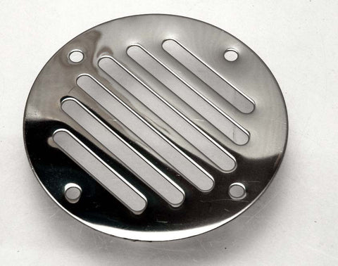 Stainless Steel Boat / Rv Locker Vent Round - Boaterbits