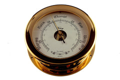 "Ships Barometer Solid Brass 7"" Victory 615R - Boaterbits"