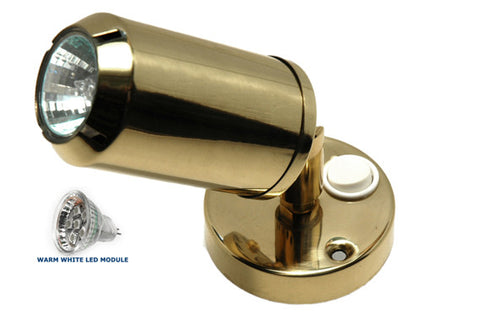 Brass Reading / Bunk Light Led - Boaterbits