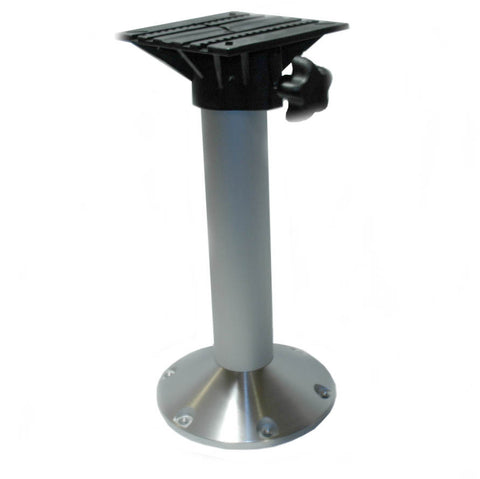 "Boat Seat Base Fixed Height Pedastle 12"" - Boaterbits"