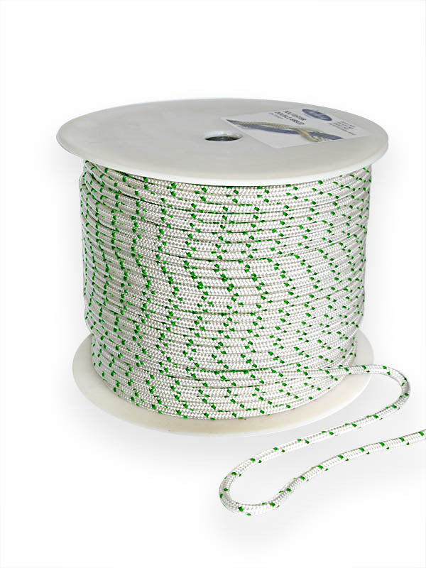 Double Braid Polyester Yacht Braid 5/16 Green - Boaterbits