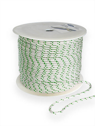 Double Braid Polyester Yacht Braid 1/4 Green - Boaterbits