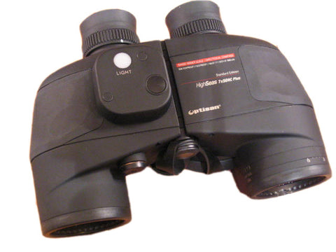 Marine Binoculars 7X50 With Internal Compass - Boaterbits