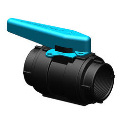 "Ball Valve Glass / Nylon 1/2"" - Boaterbits"