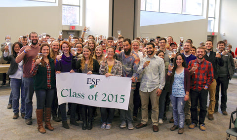 Class of 2015 Champagne Toast