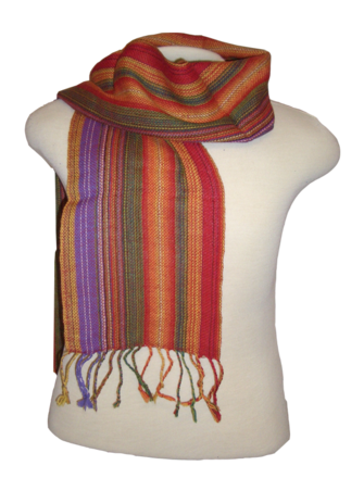 Bolivia Striped Scarf