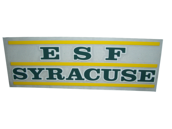 ESF/Syracuse Decal