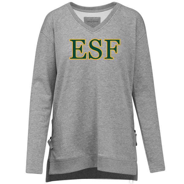 Eden V Neck Sweatshirt