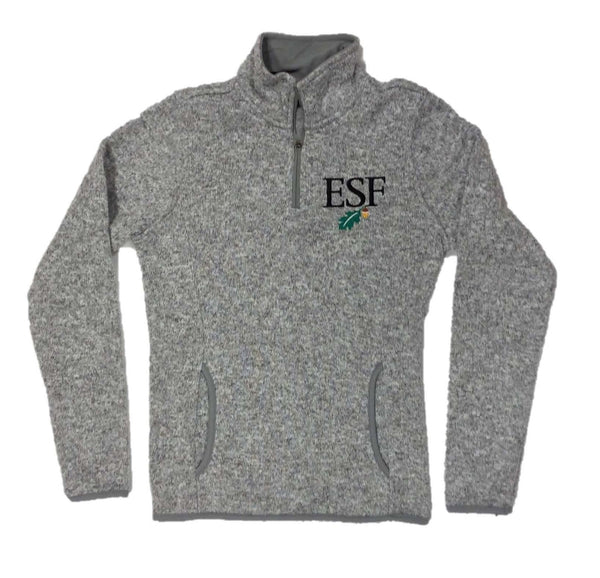 Heathered 1/4 Zip Pullover