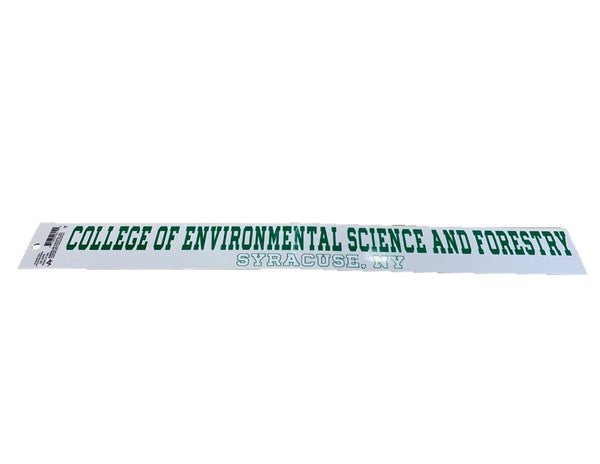 Long Full College Name Decal 2