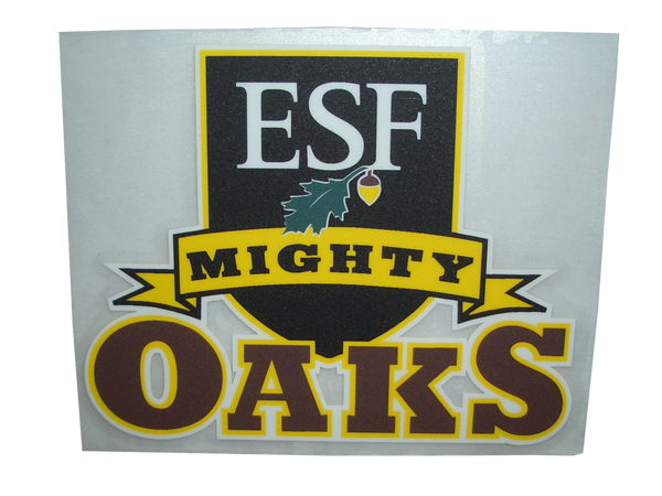 Mighty Oaks Shield Decal